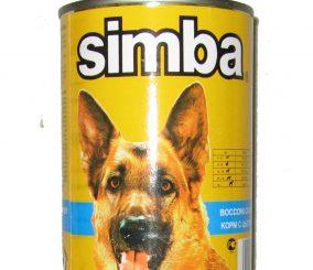 סימבה שימורים לכלב 400 גרם