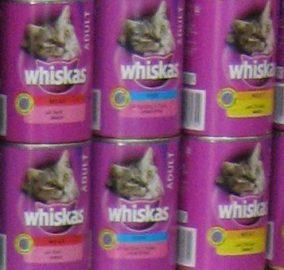 """ויסקס שימורים 400 ק""""ג whiskas"""