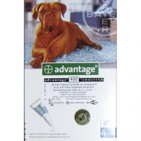 אדוונטג' לכלב גדול מעל 25 קילוגרם 400