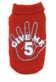 חולצה לכלב - תן לי כיף - Give Me Five