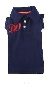 חולצת פולו כחולה כהה - DD