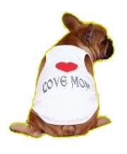 גופיה - אוהב את אמא/אבא לכלב