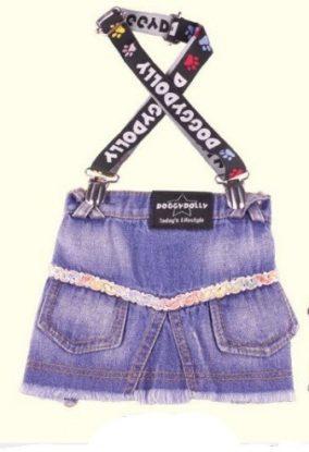 חצאית ג'ינס עם שלייקרס