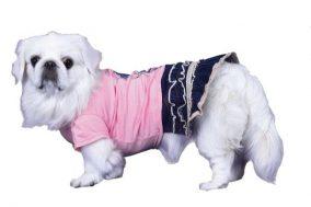 שמלת מיני לכלב - פרפר