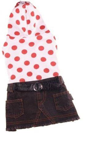 ג'ינס עם נקודות כתומות